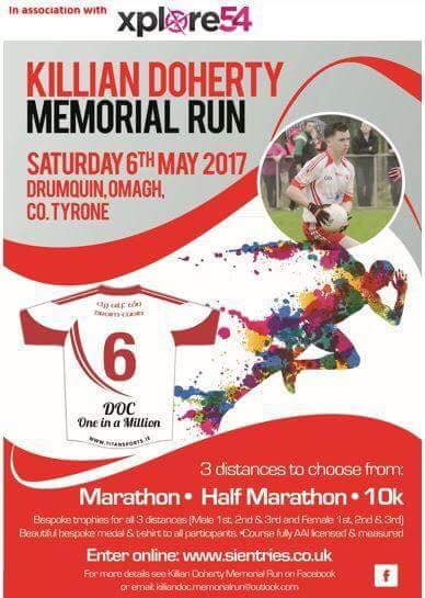 Killian Doherty Memorial Run