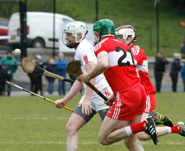 Hurlers lose out to Derry in Shield Final