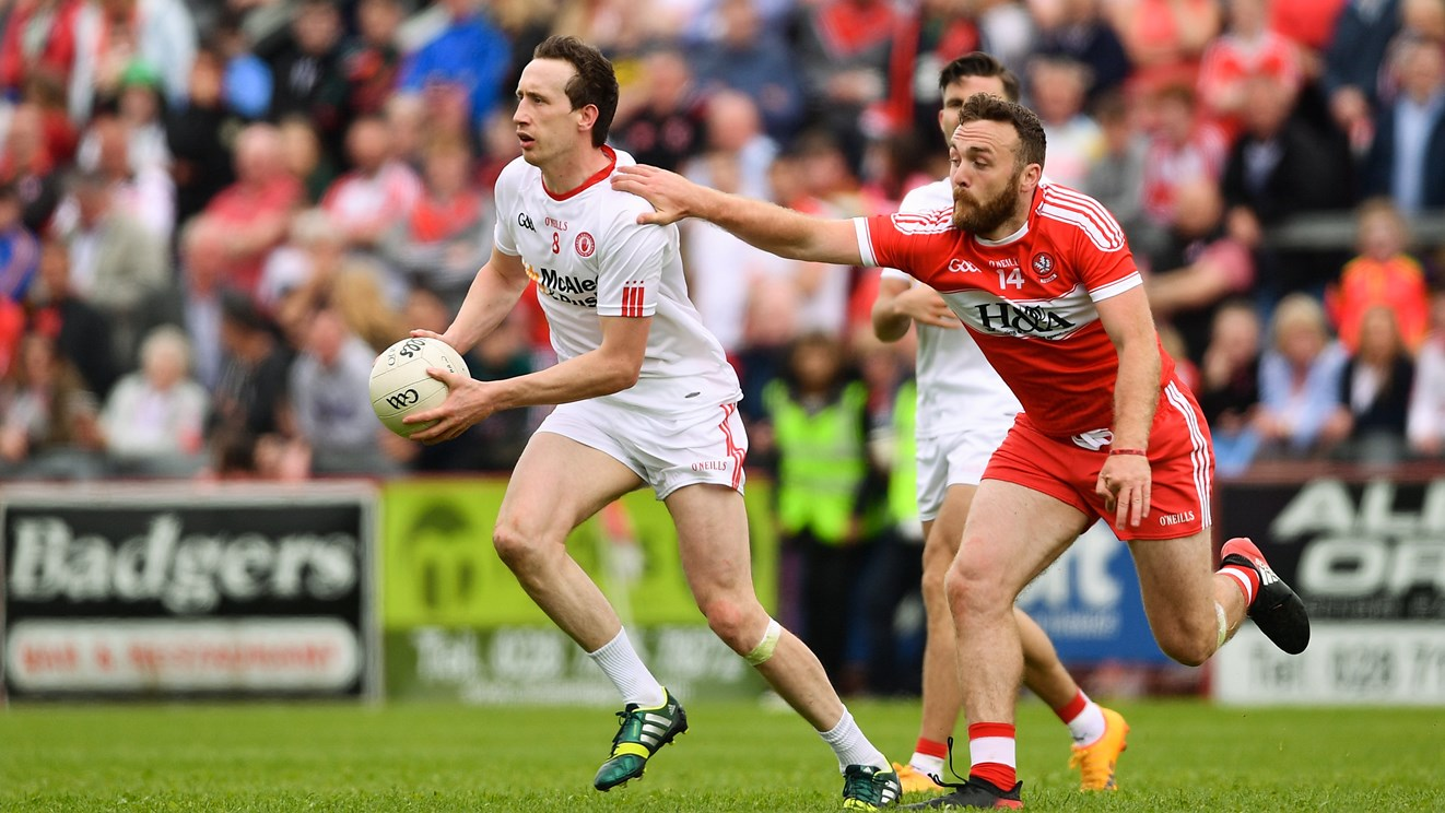 Tyrone defeat Derry to advance to Semi Final