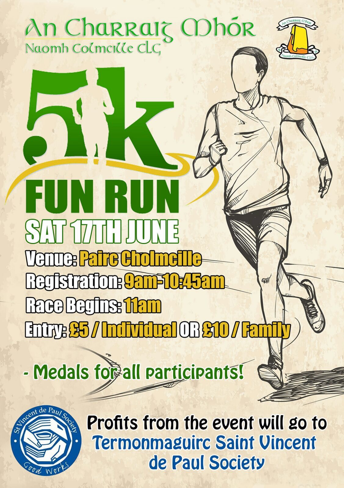 An Charraig Mhór 5k Saturday 17th June
