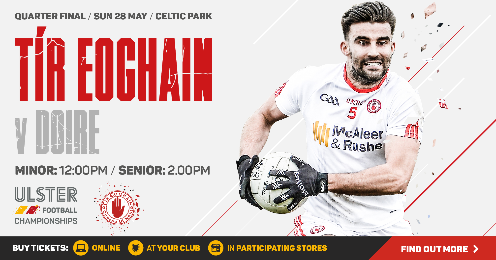 Ulster Football Championship 2017 - Quarter Final - Derry v Tyrone