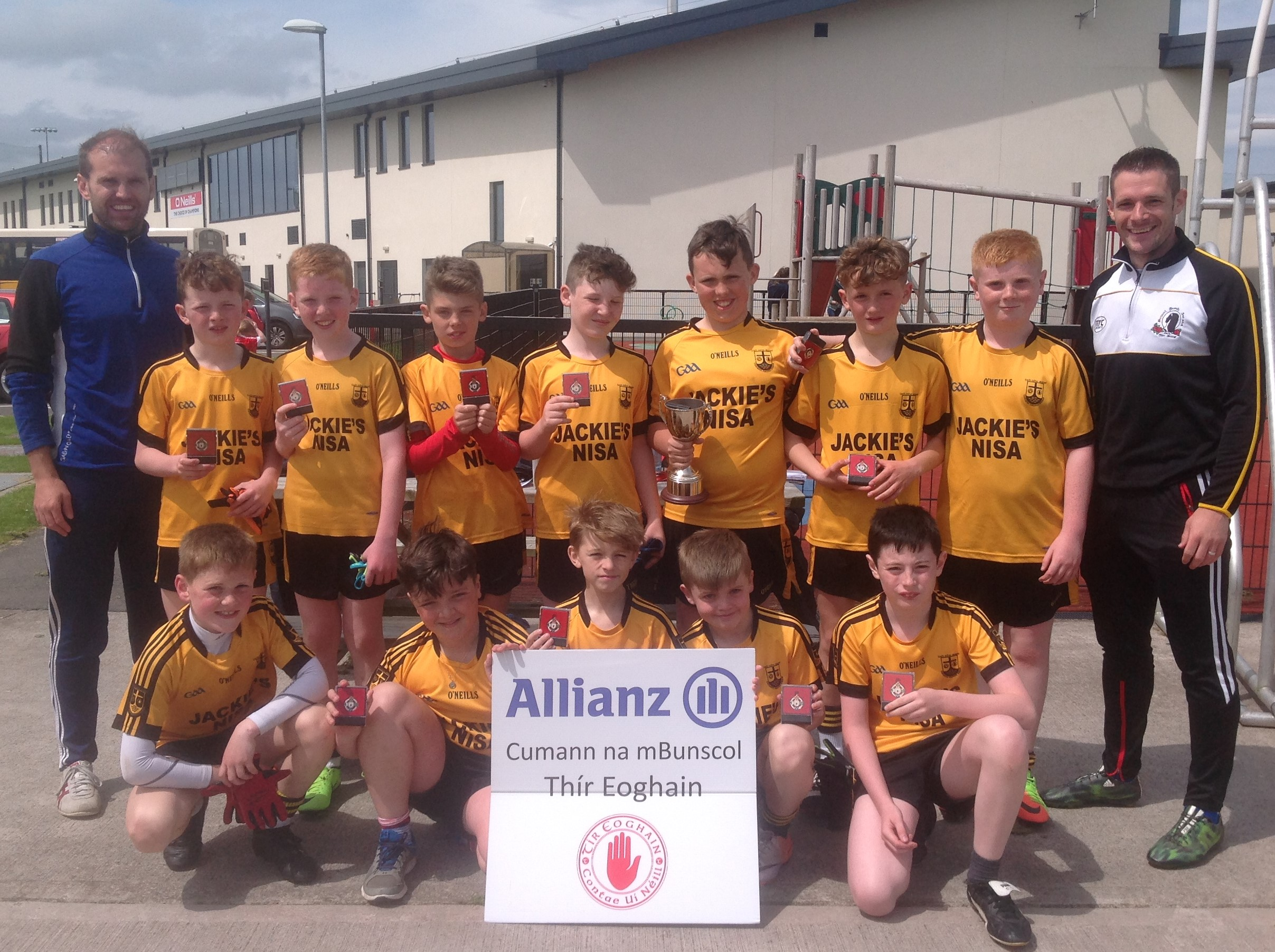 Allianz Cumann na mBunscol – Tyrone Finals Day 2017