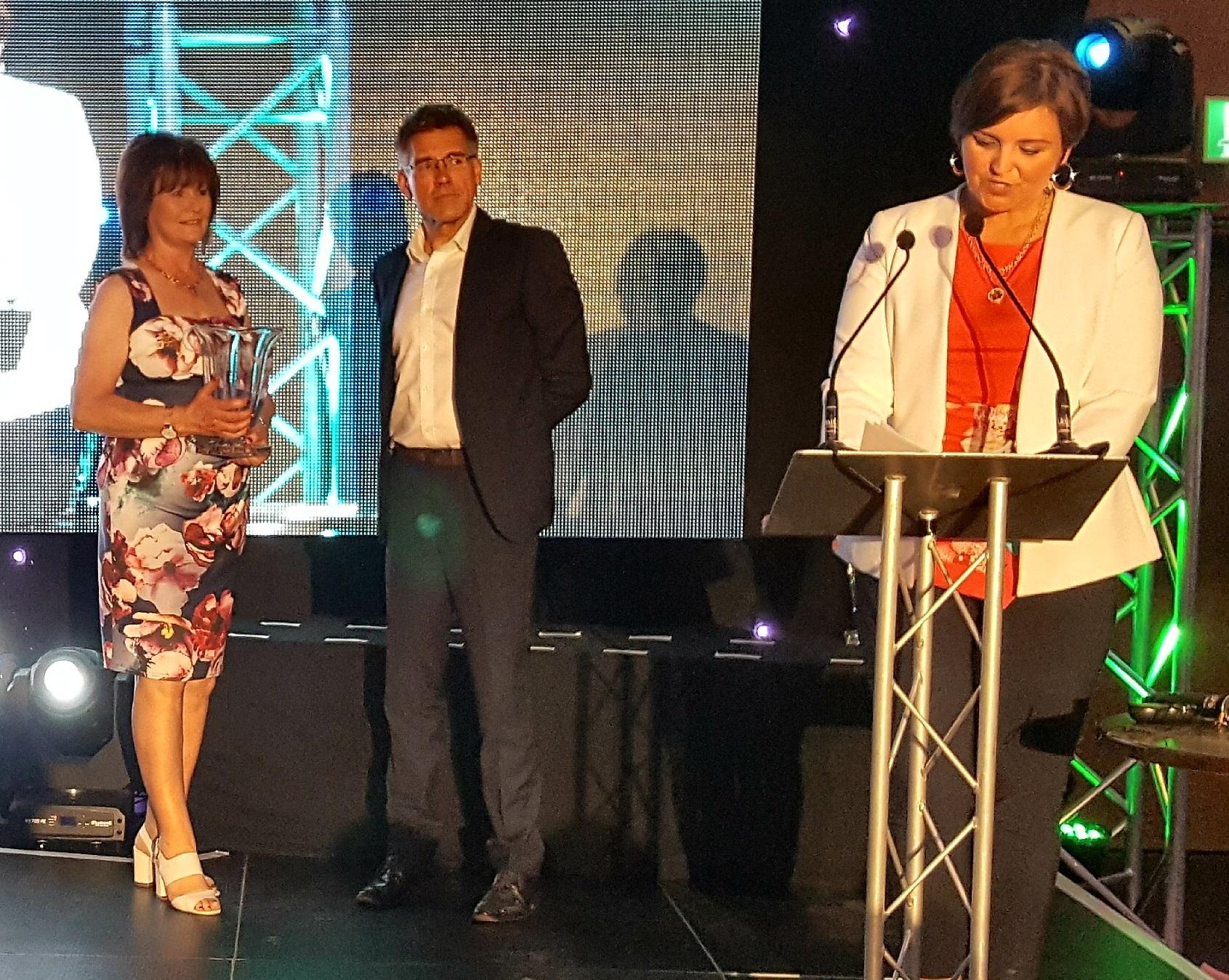 Cathal picks up Award