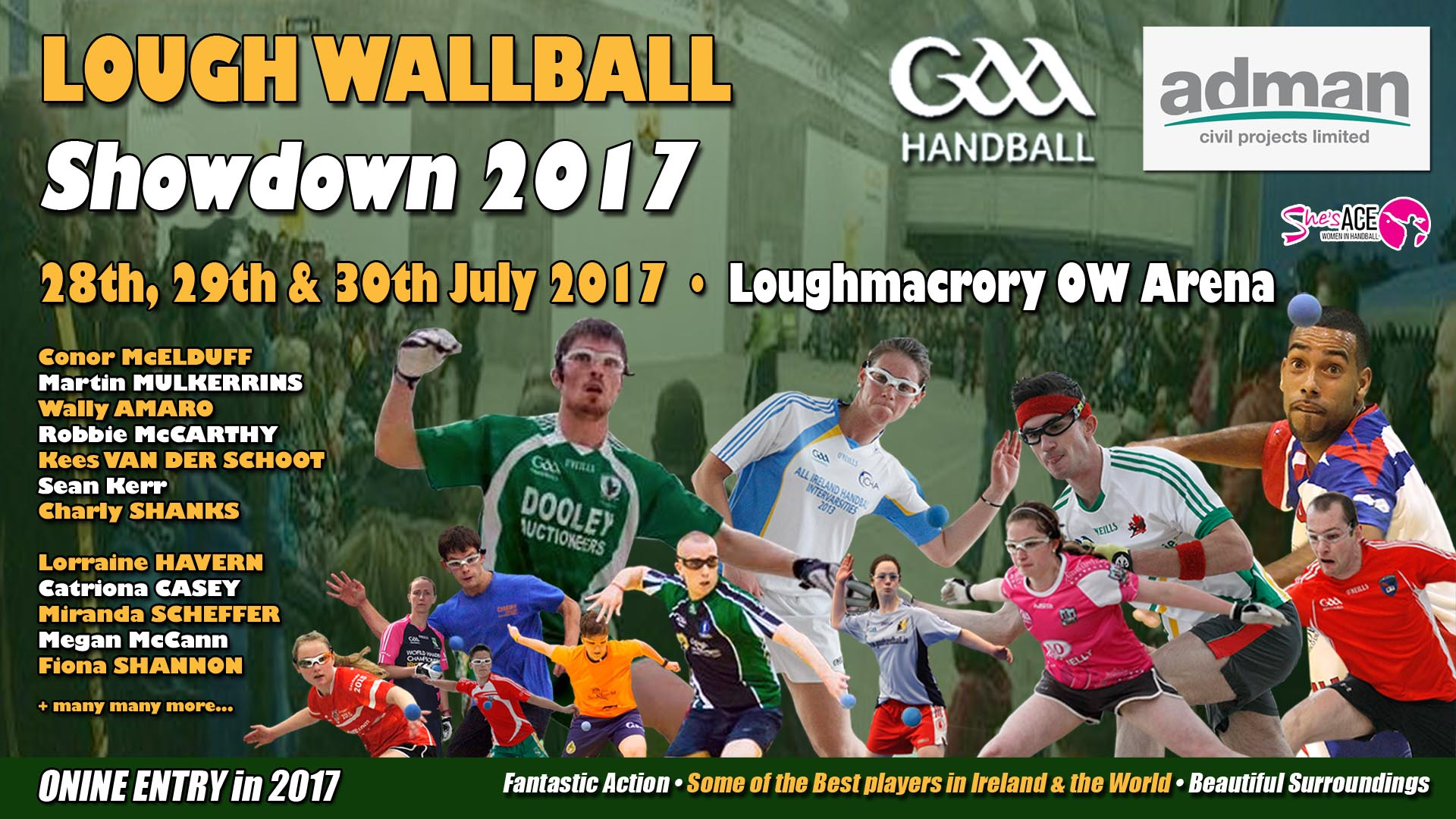 Massive interest aroused ahead of 4th Annual Loughmacrory Wallball Showdown