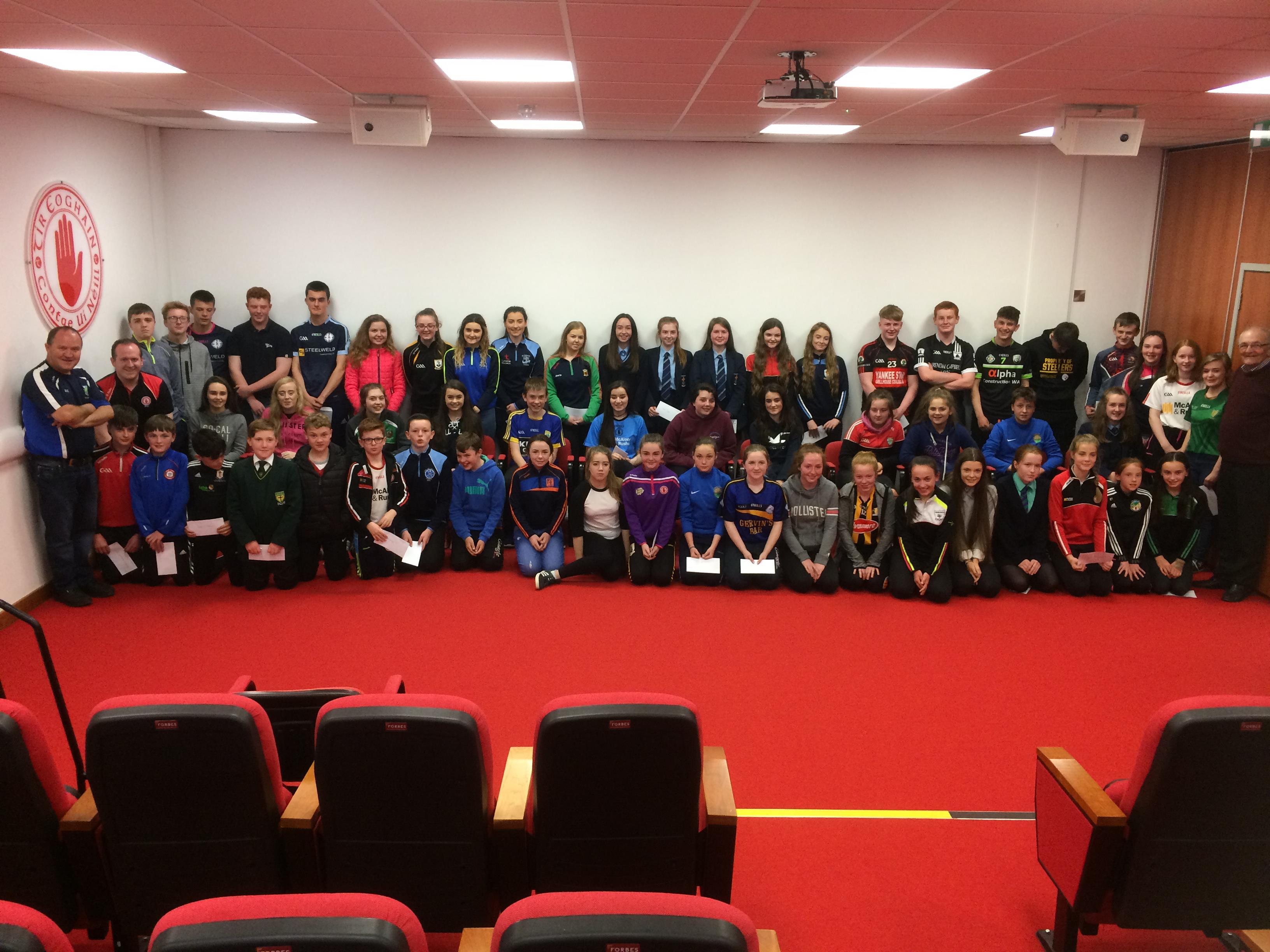 Gaeltacht Scholarships presentation