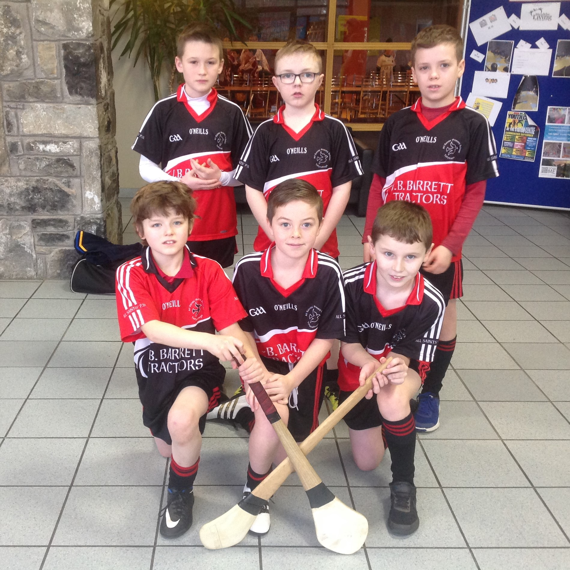 ALLIANZ CUMANN na mBUNSCOL  'Indoor Hurling & Camogie' Heat 2: OMAGH