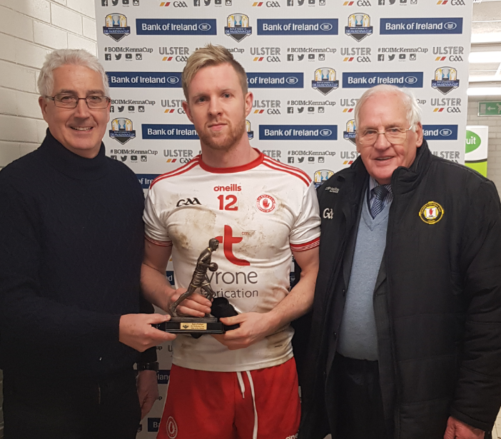 Bank of Ireland Man of the match award