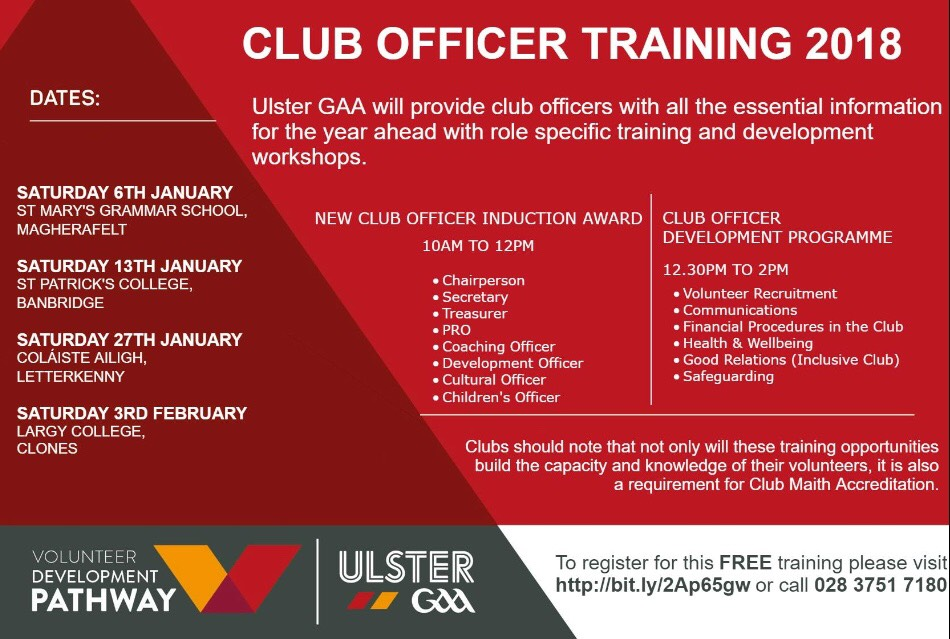 Ulster GAA Club Officer Development Programme