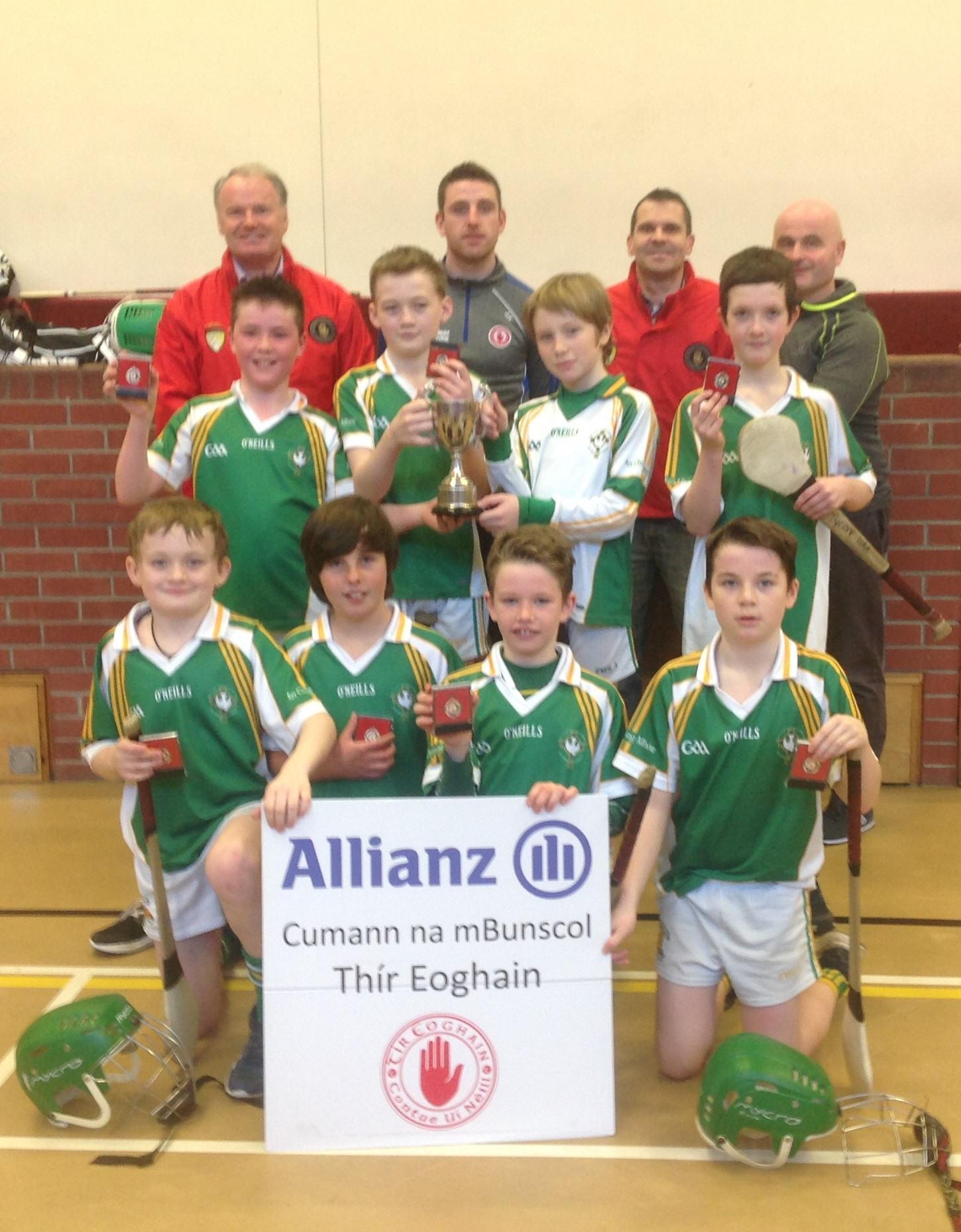 Allianz Cumann na mBunscol  Indoor Hurling: Tyrone Co. Final 2018