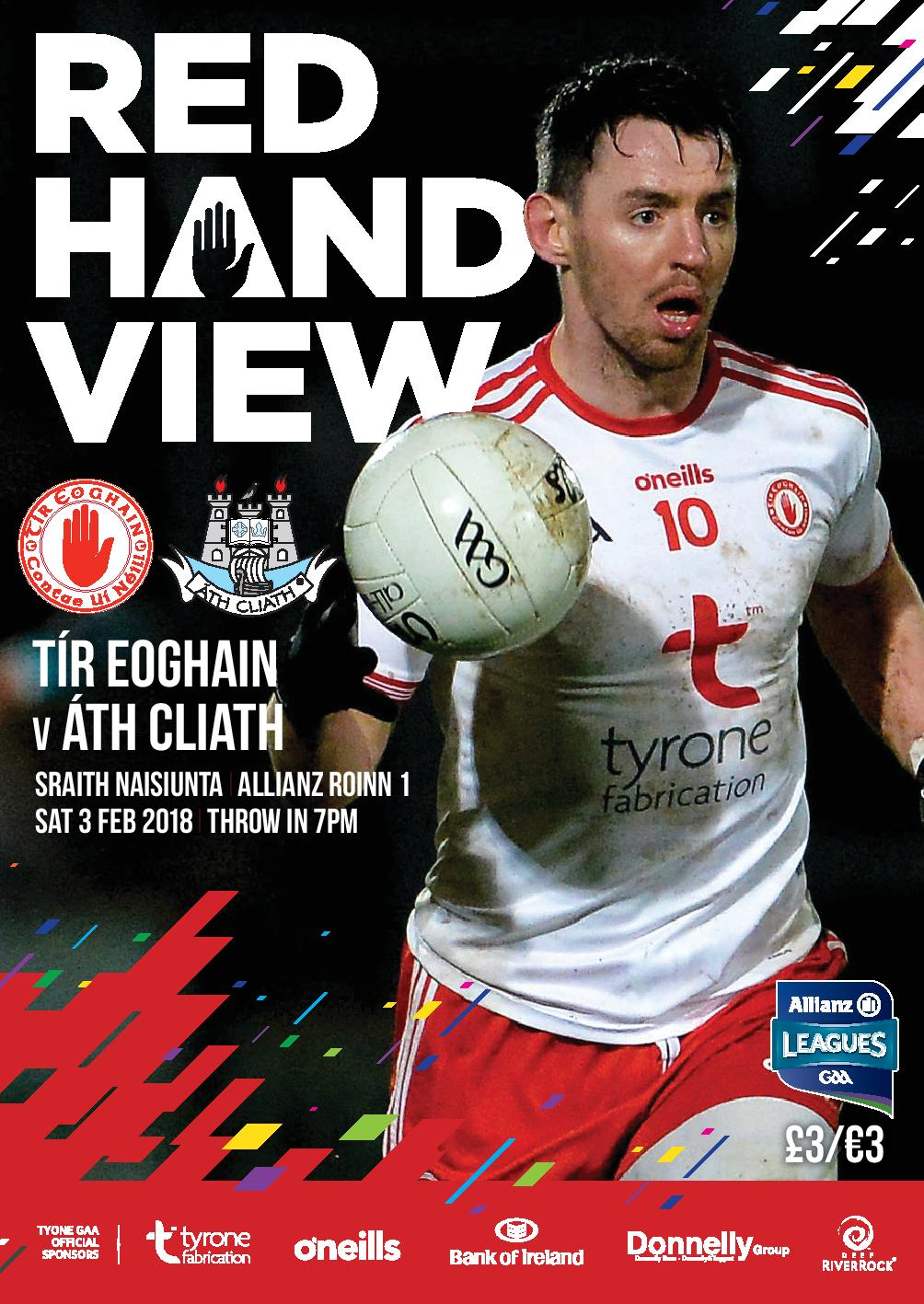 Red Hand View a must for all Supporters