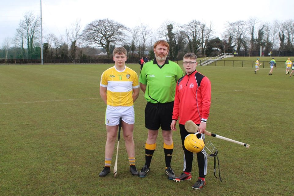 Under 17 Hurlers narrowly miss out against Antrim