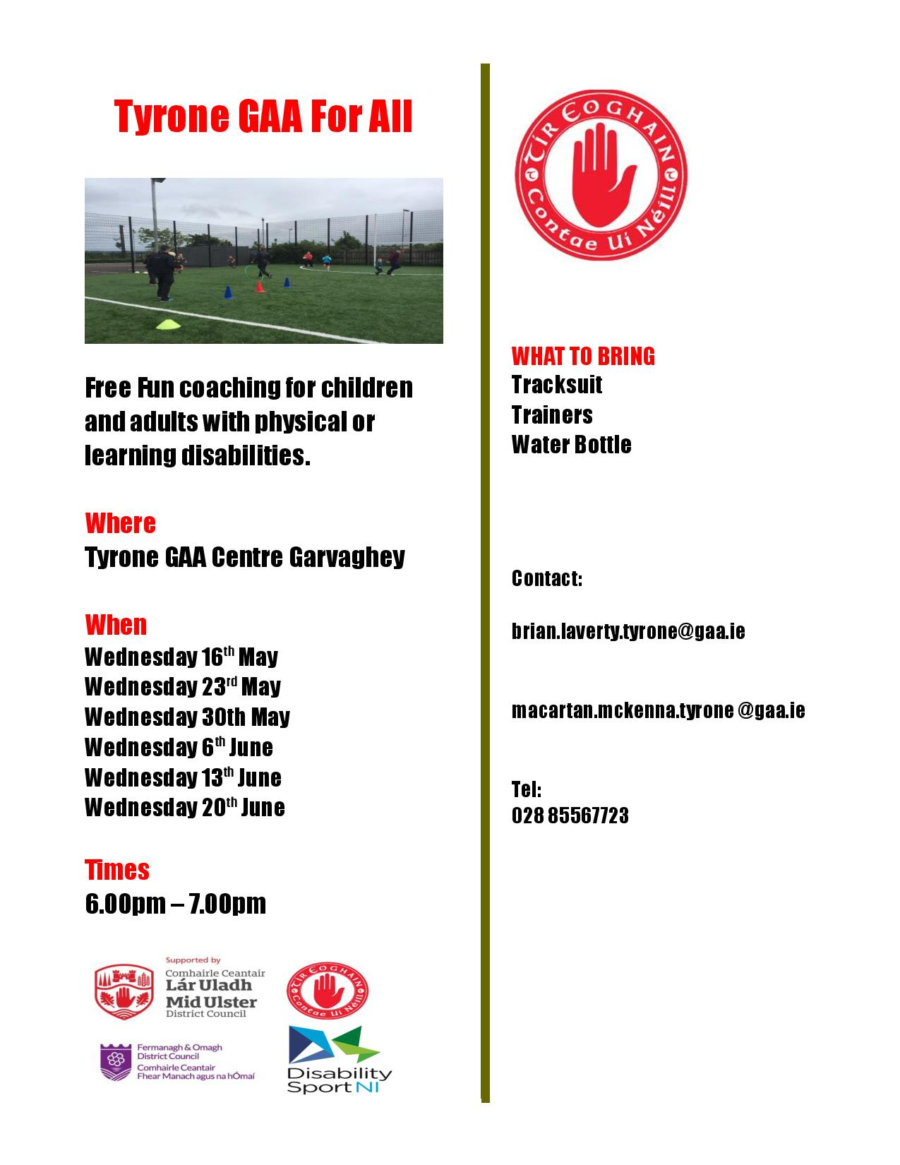 Tyrone GAA for all