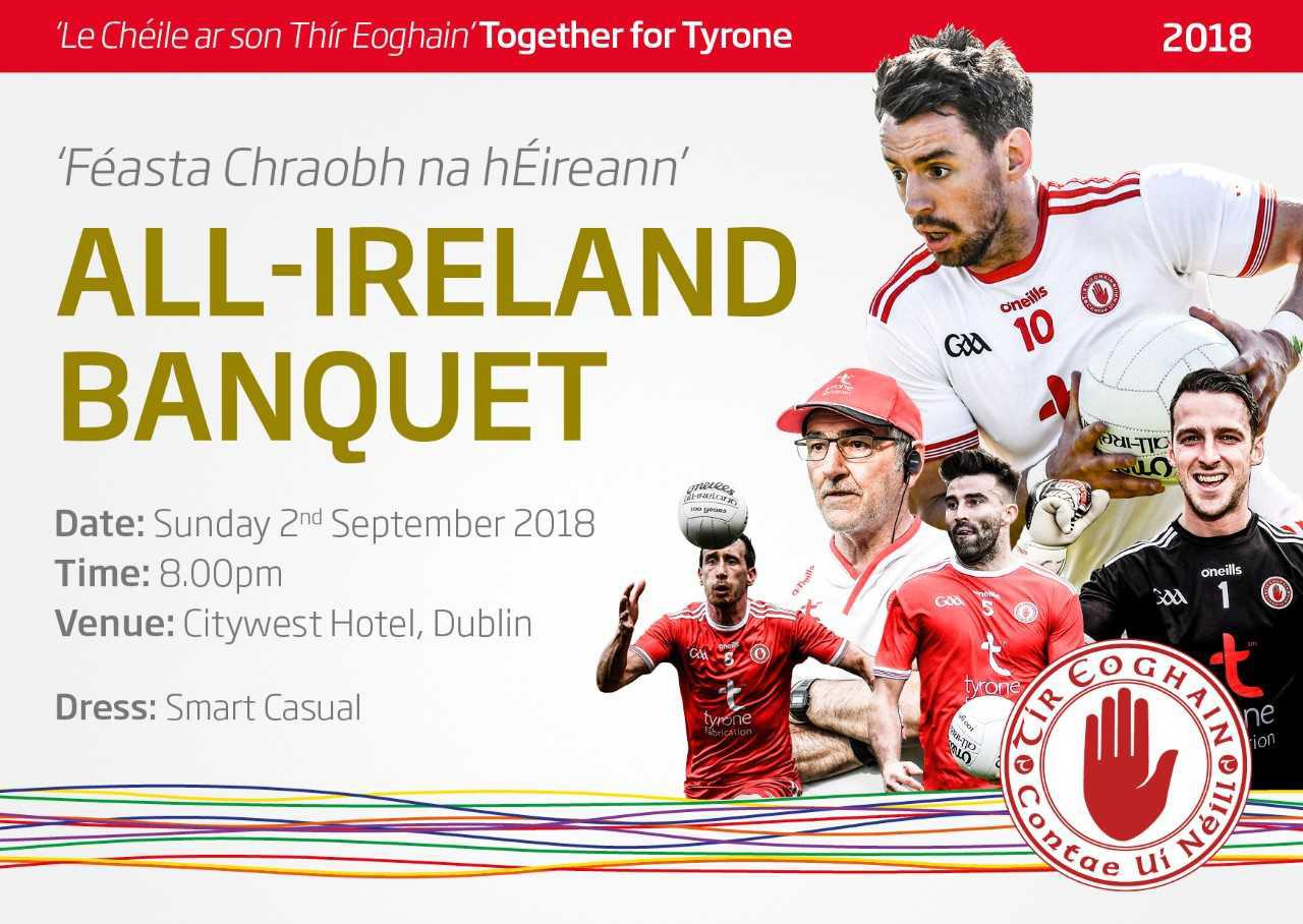All Ireland Banquet Information
