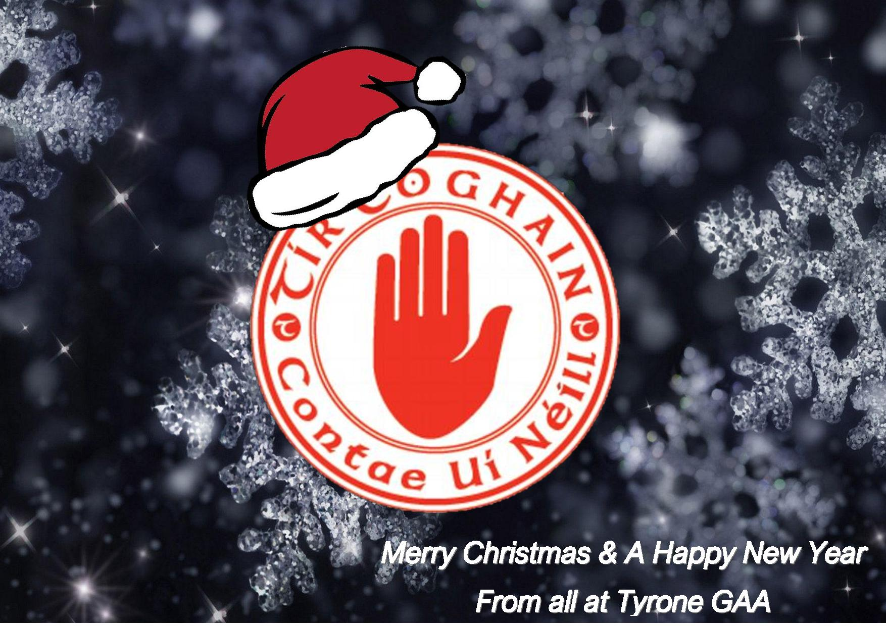 Happy Christmas & A Happy New Year to all Gaels