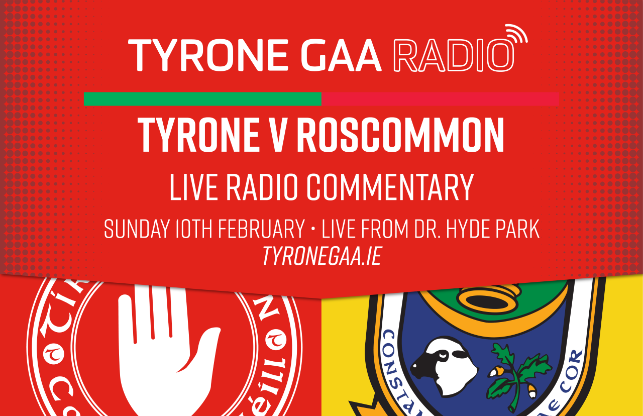 Tyrone GAA Radio goes Live In Hyde Park, Don't forget to tune in!