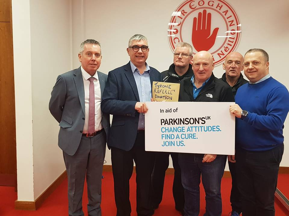 Tyrone Referees Fund Raising Continues
