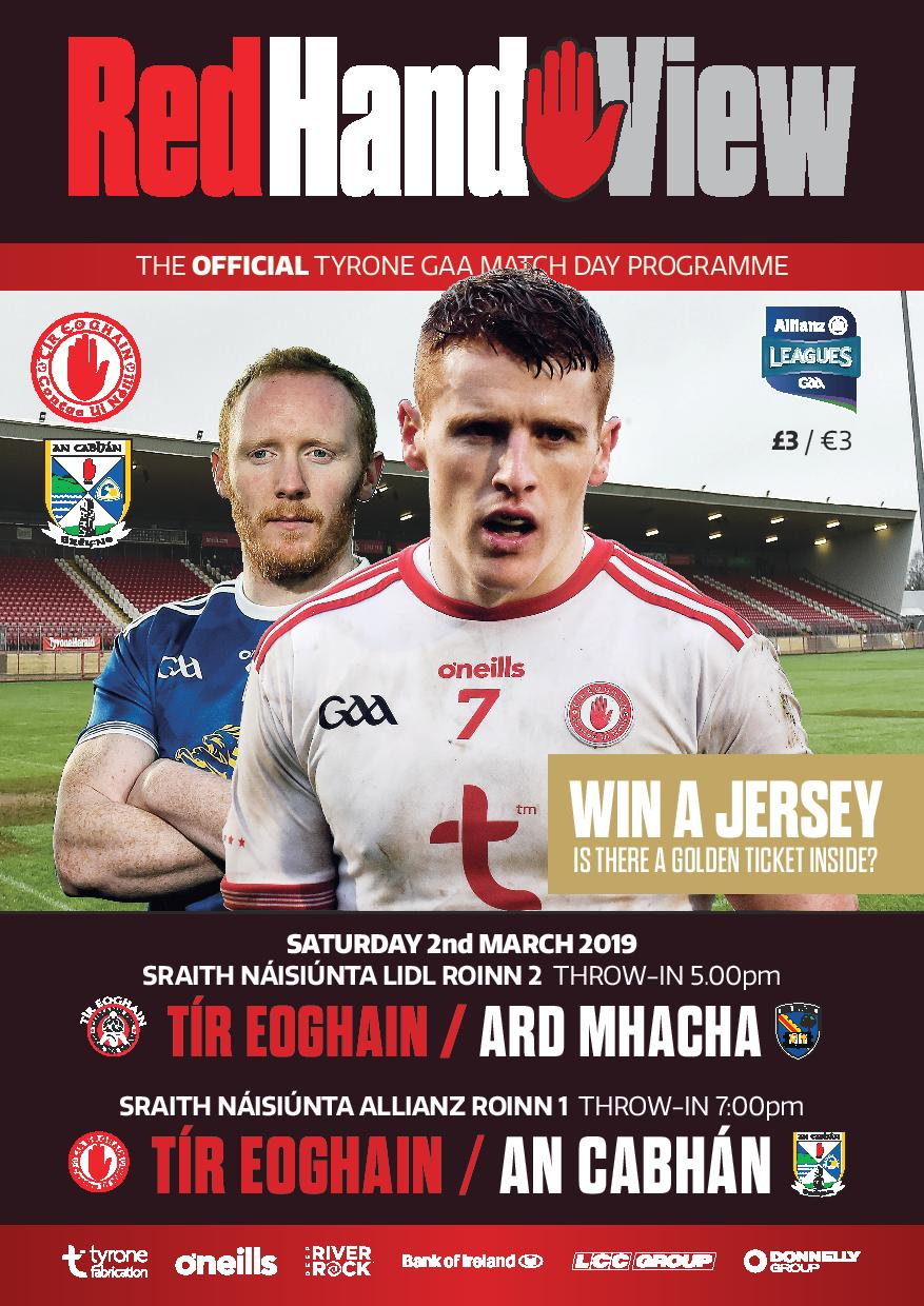 Red Hand View 2019 – Edition No.3 Preview Tyrone V. Cavan