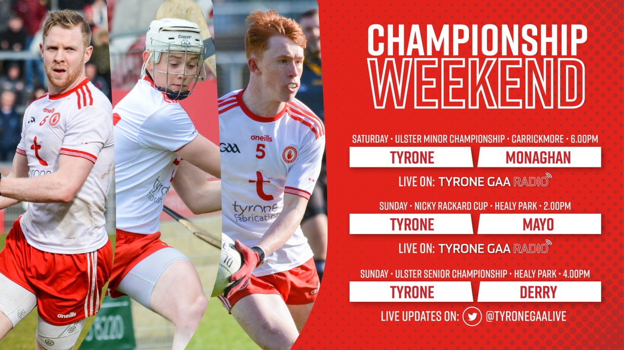 Tyrone GAA Radio Live Broadcast Updates on a Busy Weekend