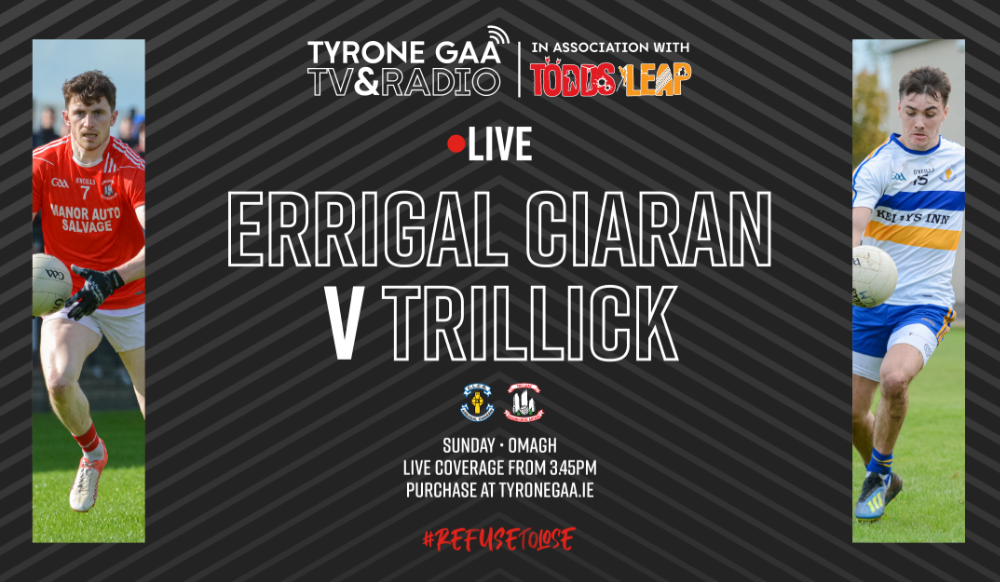Streaming Tickets for LCC Senior Championship Final