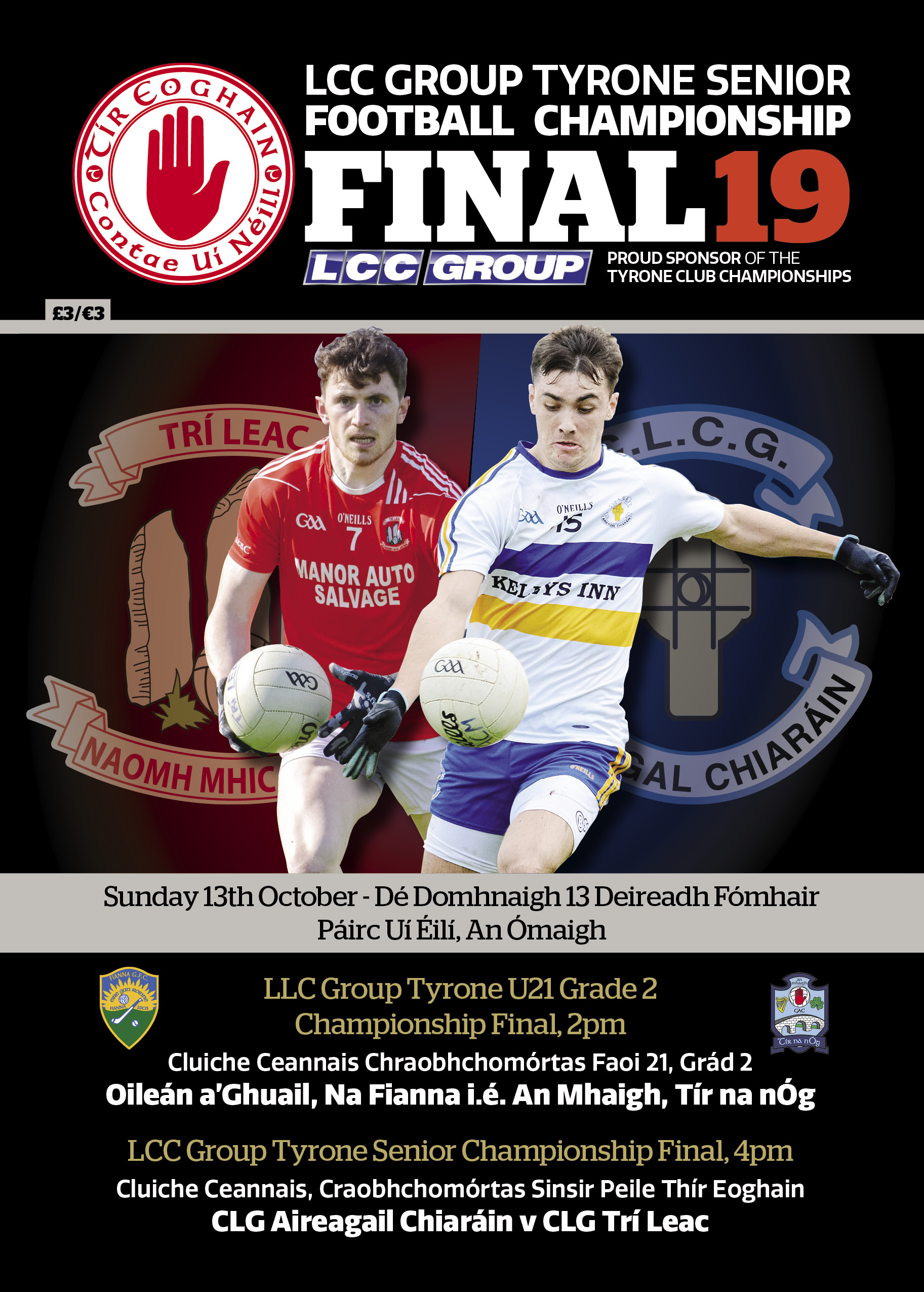 Senior County Final Match Day Programme Preview