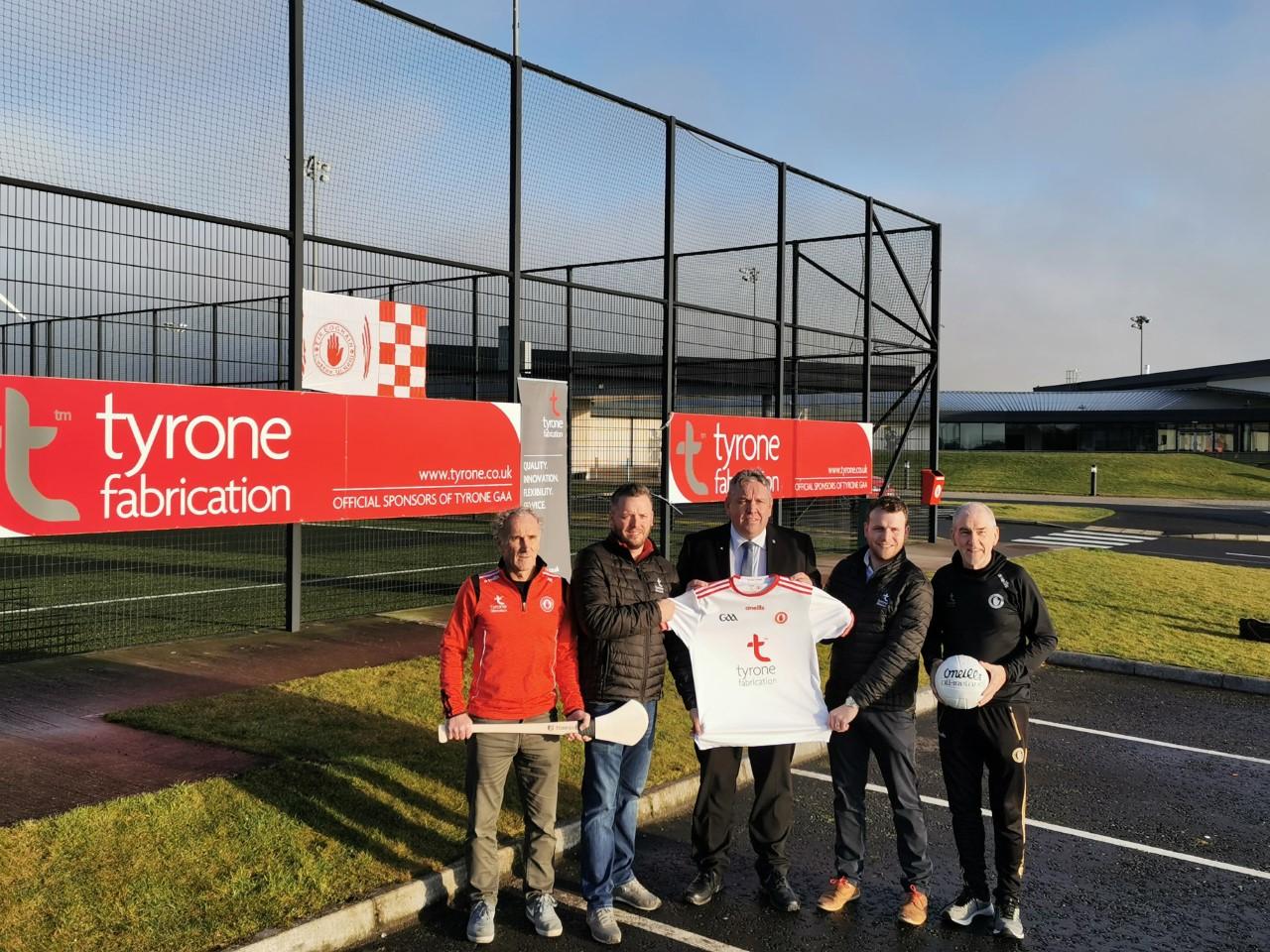 Tyrone Fabrication to continue as title Sponsor of Tyrone GAA