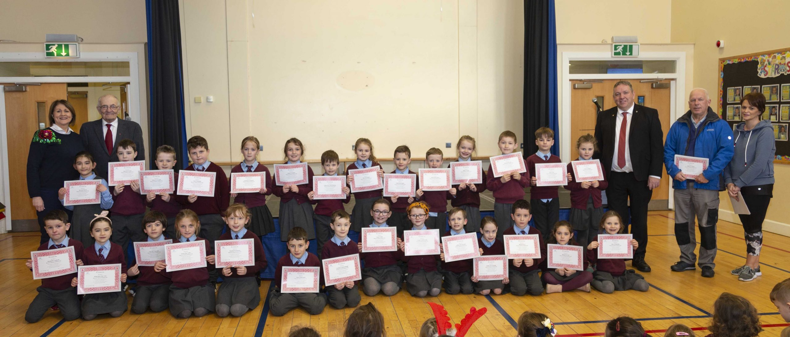 St. Patrick's Primary School, Donaghmore, Learn Irish with Tyrone GAA