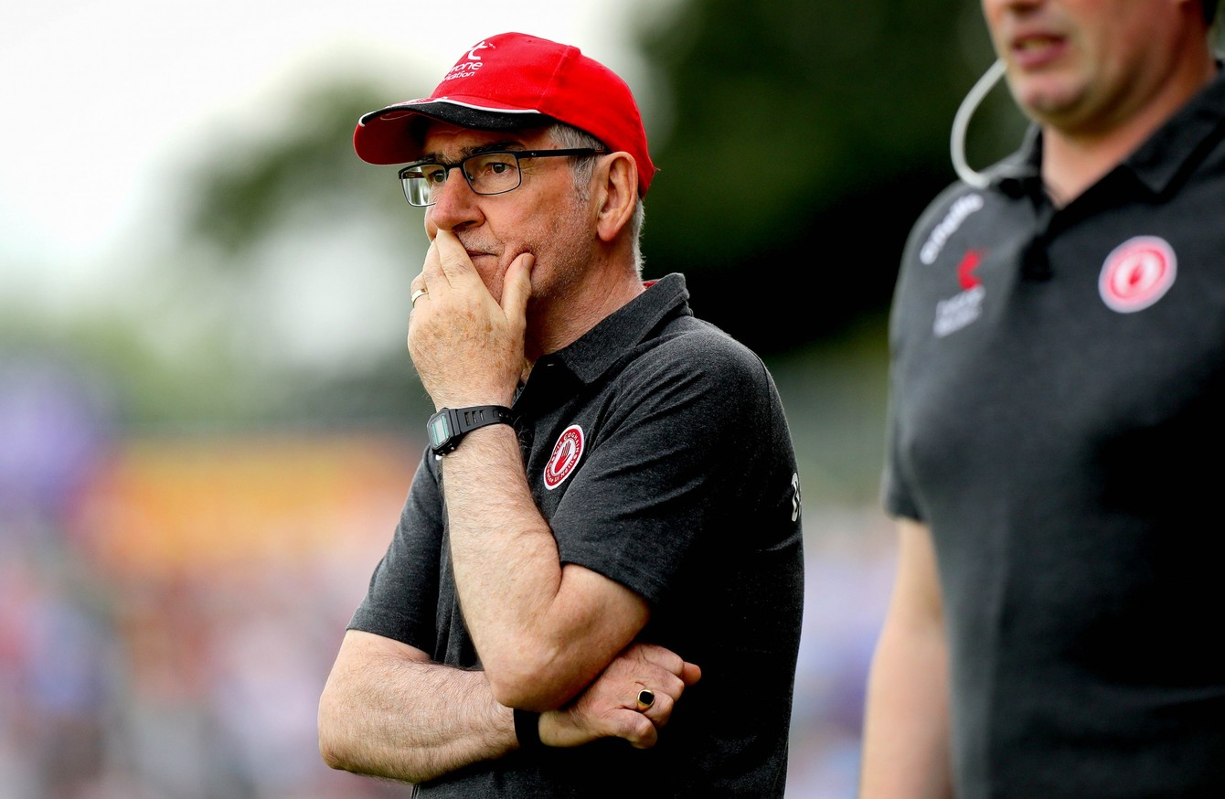 Mickey Harte's message