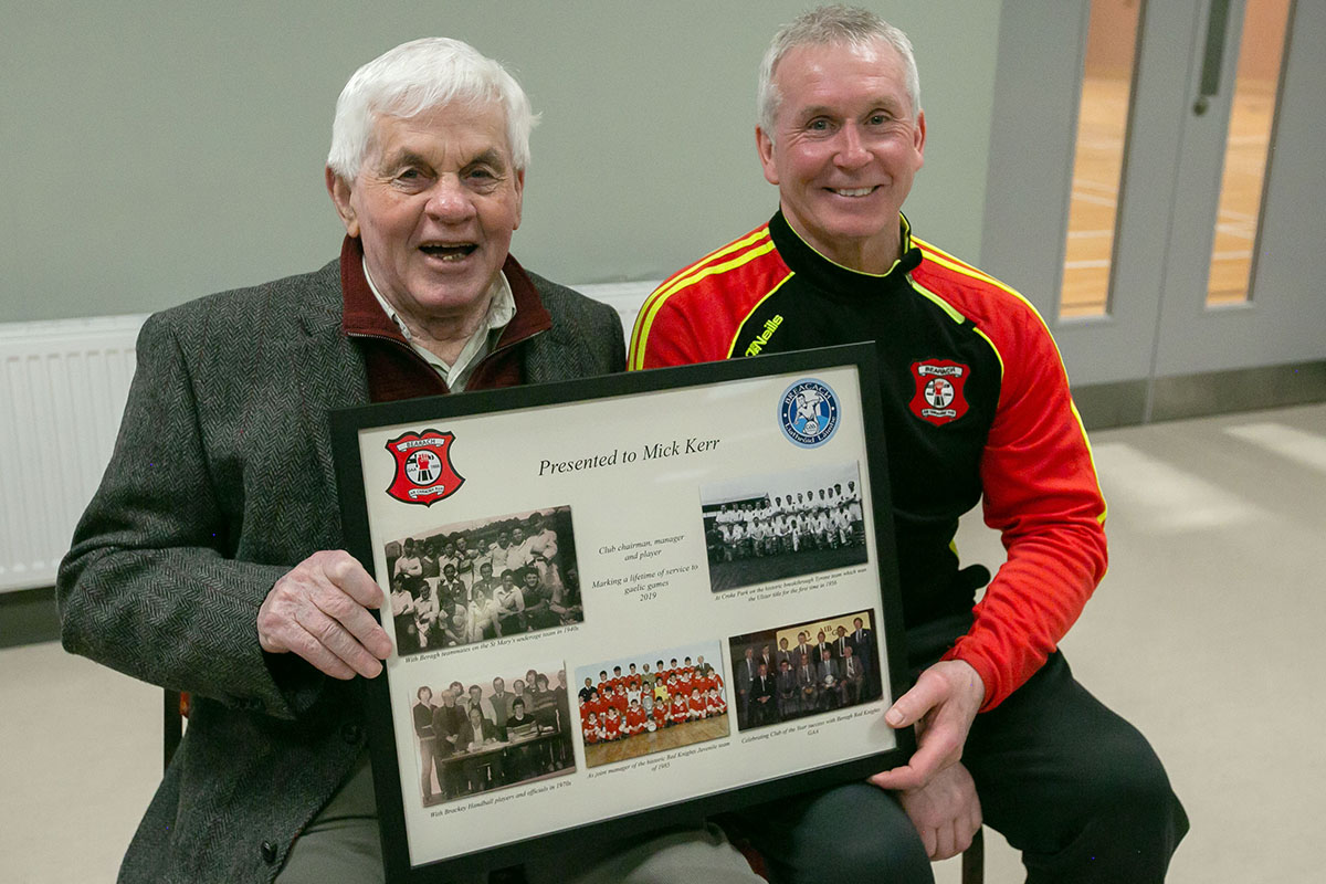 Tyrone Gaels Mourn the sad passing of Mick Kerr, Drumnakilly Beragh. R.I.P