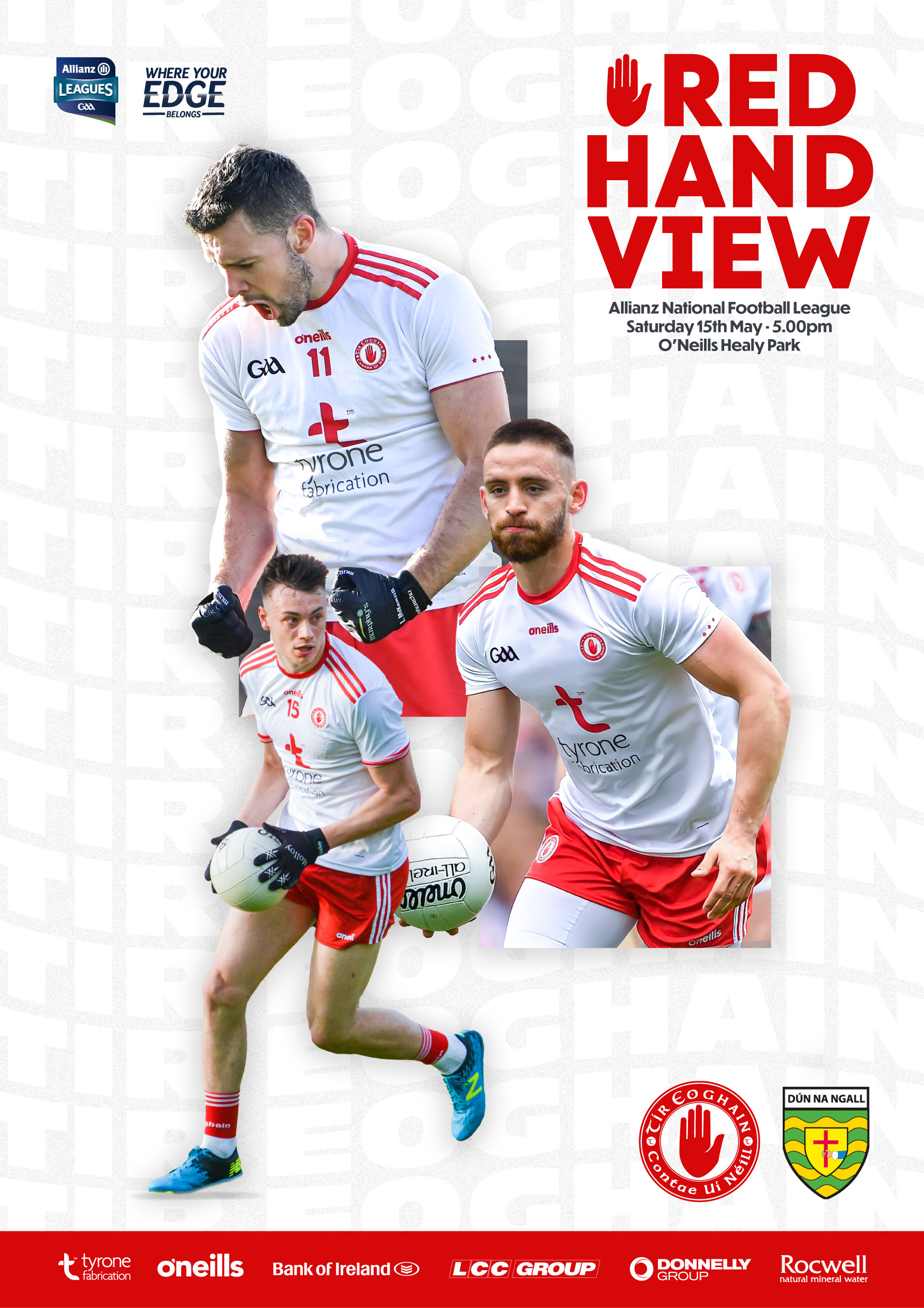 Tyrone v Donegal Red Hand View Now Available to Download