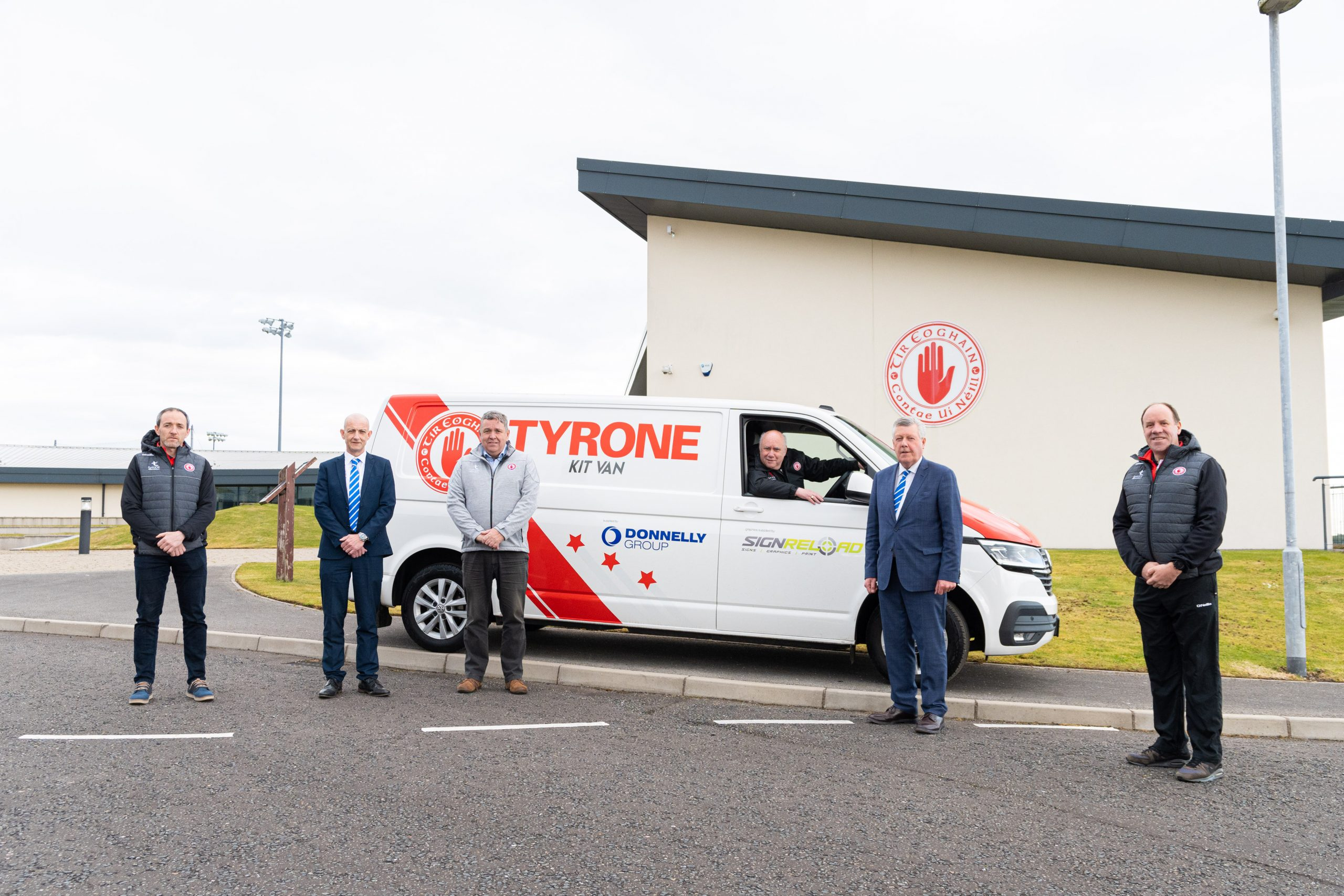 Tyrone Fabrication & The Donnelly Group renew their Sponsorship agreement with Tyrone GAA