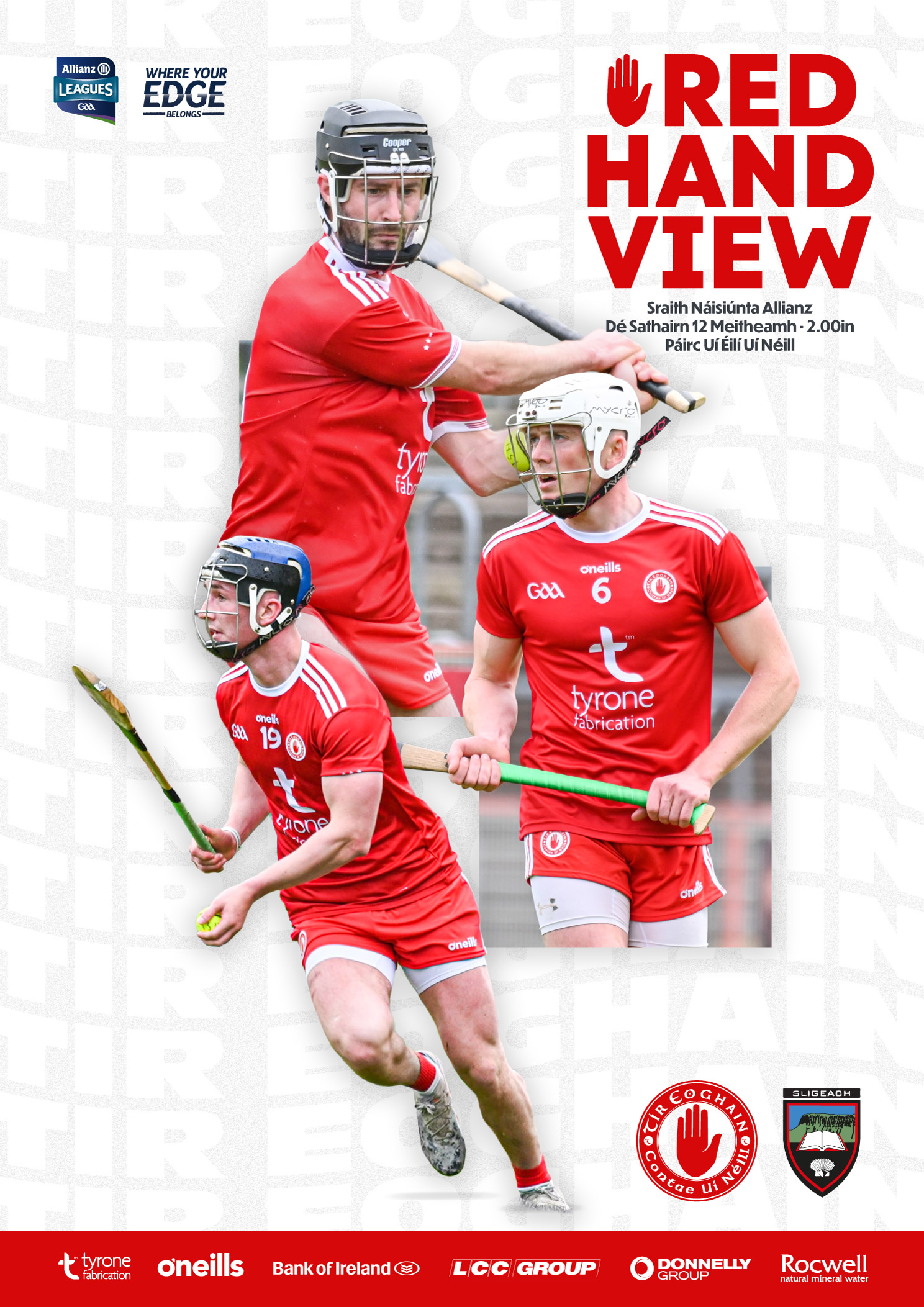 Tyrone v Sligo Red Hand View Available to Download