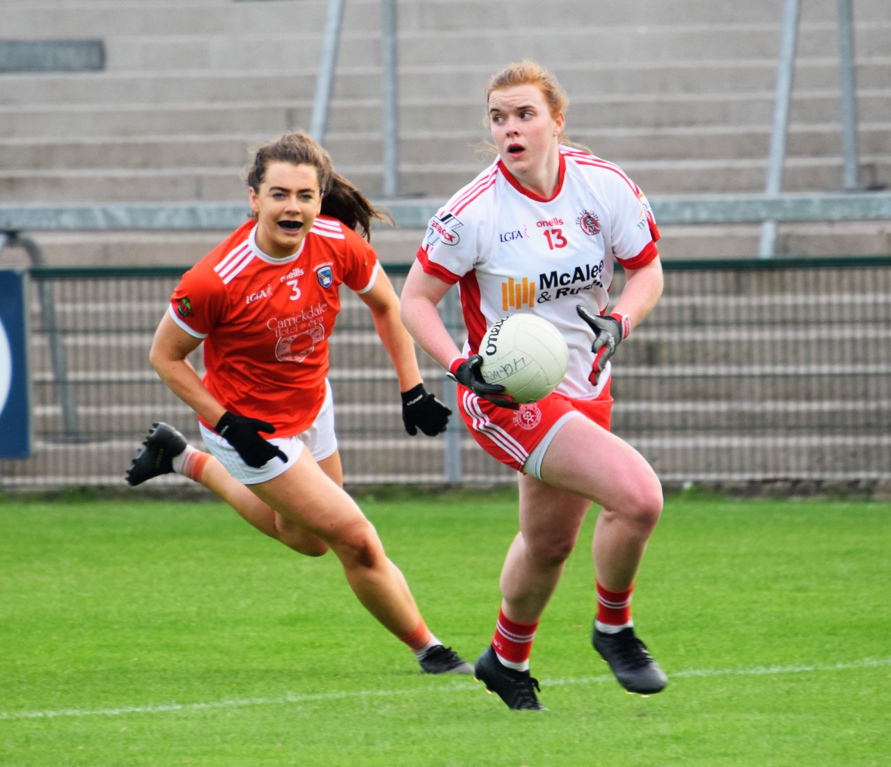 Tyrone V. Waterford in the LGFA All Ireland Championship Good Luck to the Management & Players